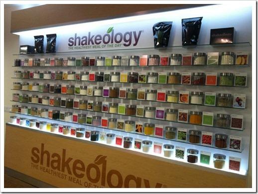 Shakeology Wall