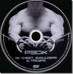 P90X chest shoulders triceps