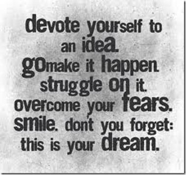 Devoted to Dream