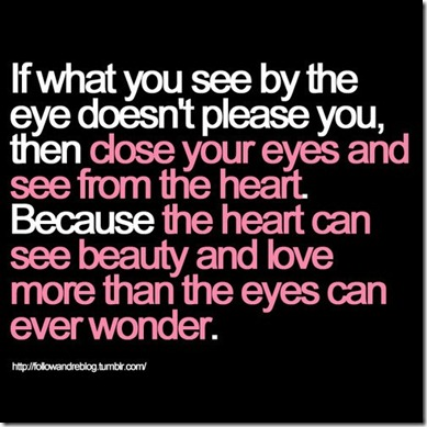 See with Heart