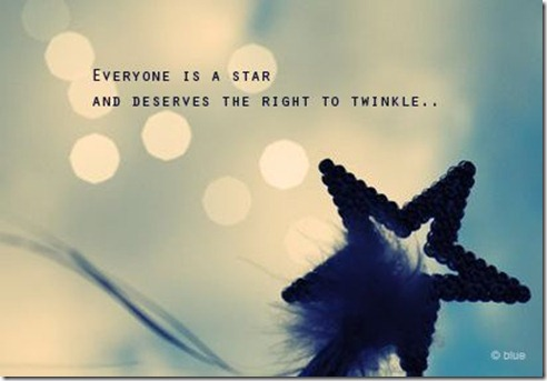 Everyone is a Star