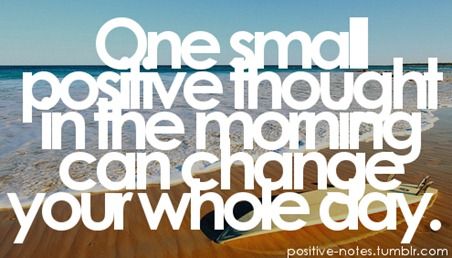 Positive Morning Thought